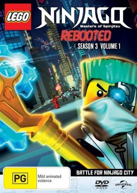 LEGO Ninjago - Masters of Spinjitzu - Series 3 - Vol 1 : NEW DVD