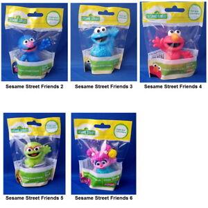 Sesame-Street-Mini-Figurine-Toy-or-Cake-Topper-2-5-inch-You-Choose-Character