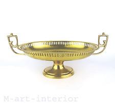 Art Deco Tafelaufsatz Messing getrieben Brass Centerpiece Vienna Wien um 1924