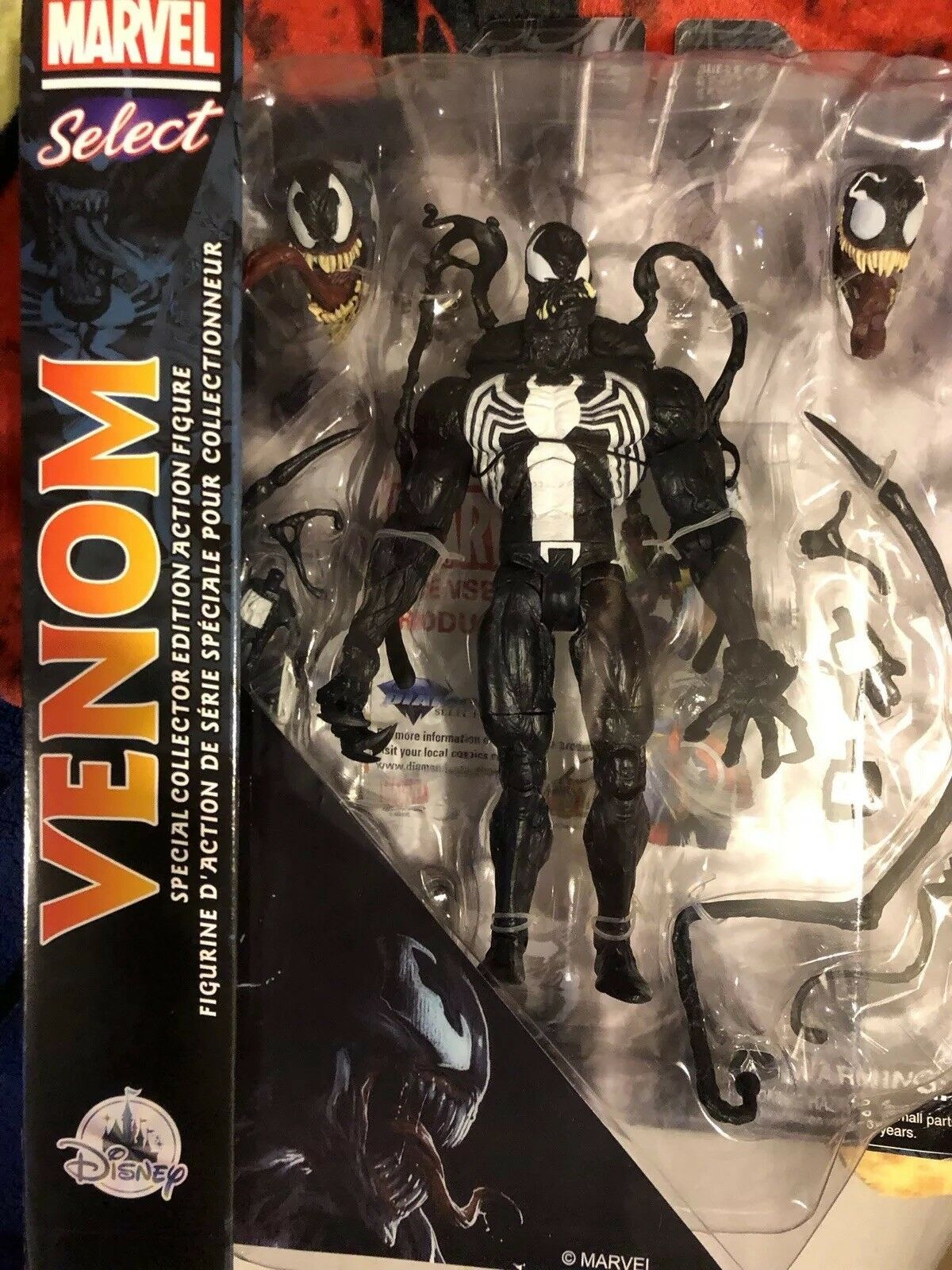 Venom  Special Collector Edition Edition Edition Marvel Select 7 Inch Figure 6b0d89