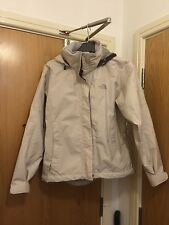 The North Face Resolve Jacket Waterproof Hyvent XS 8-10 Womens Cream Coat
