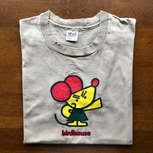 Vintage Rare 90s Birdhouse Skateboards T-Shirt 199