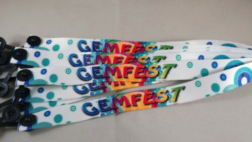 Your wristband//your design 75 Personalised Fabric Wristbands