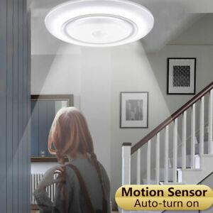 5W-17LED-Plafonnier-Lampe-Capteur-DE-Mouvement-Lumiere-Couloir-Escalier-ME