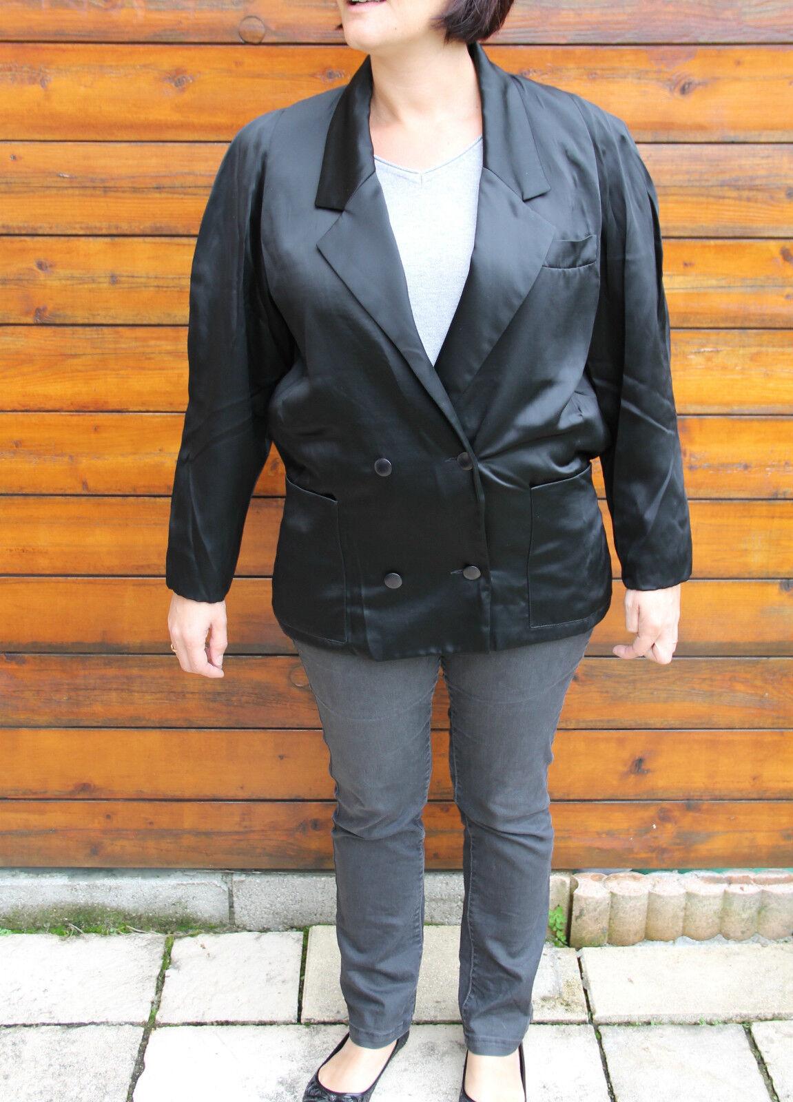 Lujosa Chaqueta Brillante black Christian Dior Coordonnés Nuevo