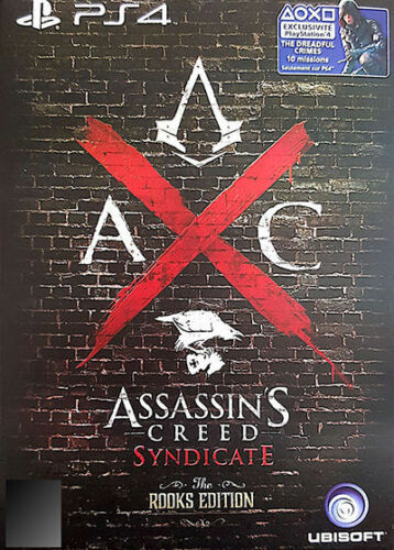 1 of 1 - Assassin's Creed: Syndicate - Rooks Edition (Sony PlayStation 4, 2015)