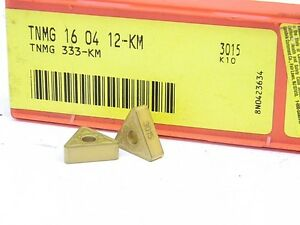 NEW-SURPLUS-10PCS-SANDVIK-TNMG-333-KM-GRADE-4015-CARBIDE-INSERTS