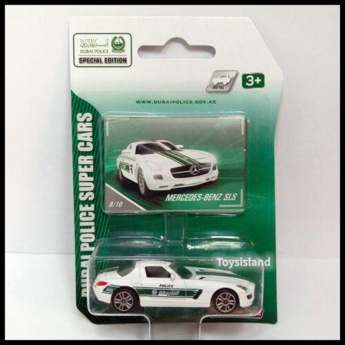 Majorette DUBAI POLICE Mercedes-Benz SLS 1//59 DIECAST CAR NEW