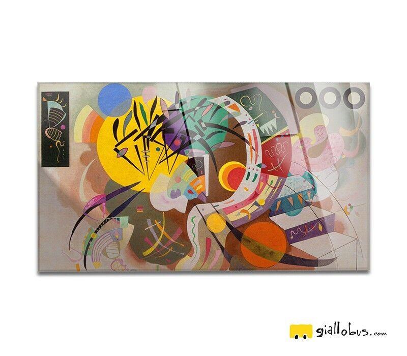 Vetro Acrilico - Wassily Kandinsky -  Curva dominante - Stampa fine Kunst – Pronto