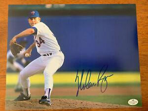Nolan-Ryan-Rangers-Hand-Signed-Autographed-8x10-Photo-Picture-W-COA-HOF