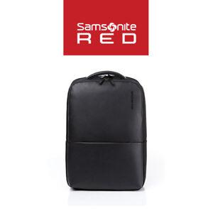 Samsonite-RED-NEUMONT-2-Backpack-Black-Modern-Bag-DQ109001-Laptop-PU