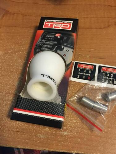 New JDM T.R.D Duracon 5 6 Speed Manual Racing Shift Knob FRS AE86 Supra MR2