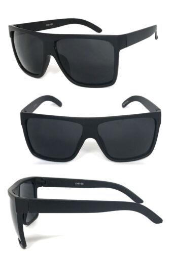 2 Pares Large Square Aviador Parte Superior Plana Gafas de Sol Mates Montura
