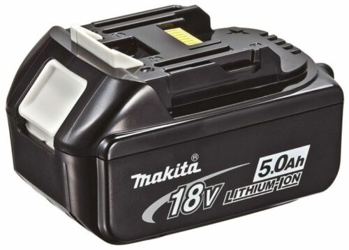 1 of 1 - MAKITA 18V 5.0 Ah LXT Lion Battery Pack BL1850