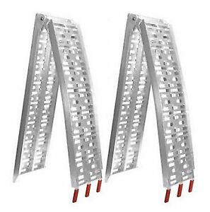 RIGG Offroad KLK-atv-001 Aluminium Folding Ramp for Motorcycle - 2 Pieces