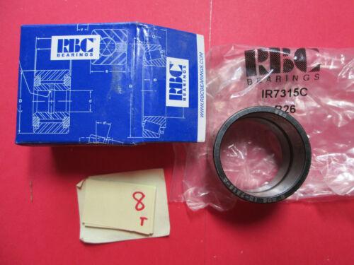 RBC BEARINGS INNER RING CAM FOLLOWER IR7315C IR-7315-C MI-24 C26 D1A2