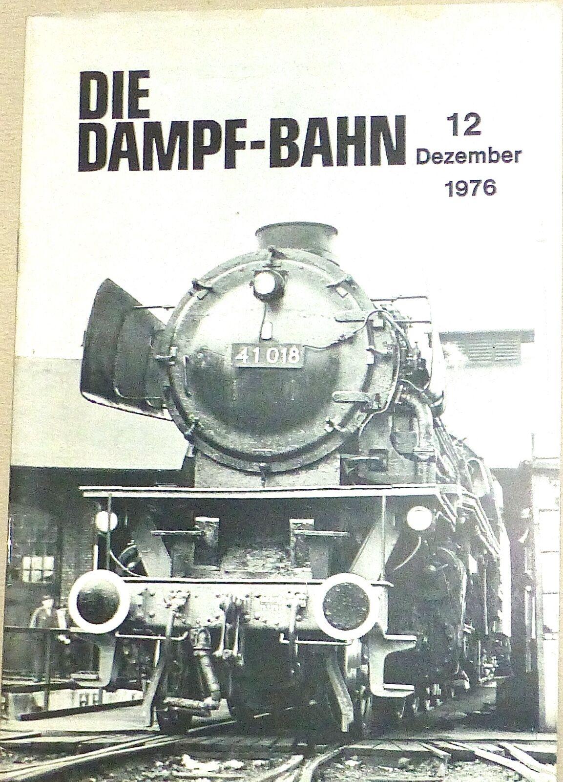 The dampf-bahn 12 December 1976 @27@ Å