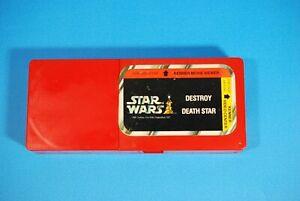 VINTAGE-STAR-WARS-Movie-Viewer-Cassette-Destroy-Death-Star-KENNER