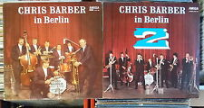 CHRIS BARBER 2 X DDR AMIGA LP: IN BERLIN 1 & 2 (855164/855198)