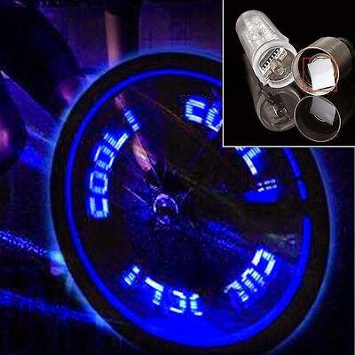 2 Mountain Bike Cycling Bicycle Wheel Accessories Valve Light Night Warning Lamp