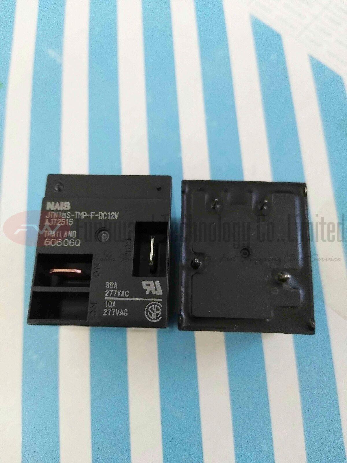 JTN1aS-PA-F-DC12V Power Relay 30A 12VDC 4 Pins x 1PC NEW
