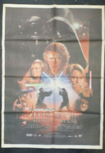 Australian Newspaper Sunday Mail Fold Out Star Wars Episode 3 Revenge Of Sith
