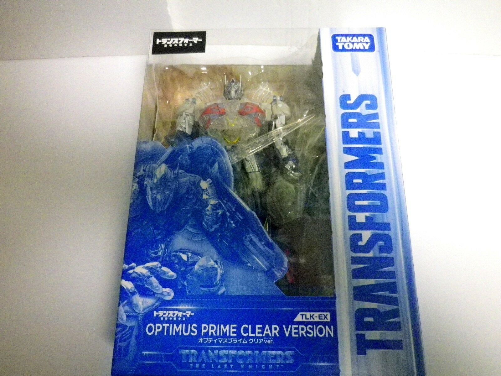 TRANSFORMERS TLK-EX OPTIMUS PRIME CLEAR VERSION limited  new