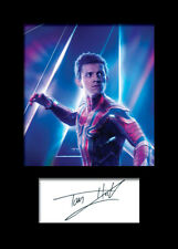 TOM HOLLAND #1 A5 Signed Mounted Photo Print - FREE DELIVERY