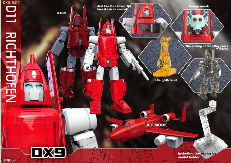 [Toys Hero] In Hand DX9 D11 RICHTHOFEN G1