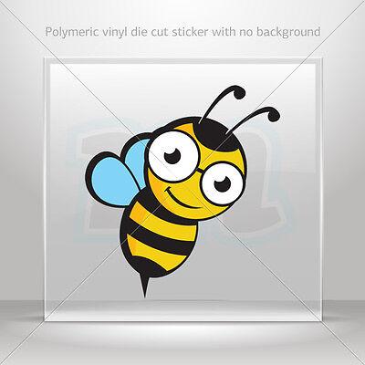 Autocollant decals Bee Hornet Wasp Voiture Moto Vélo Vinyle vélo st5 XXWW8