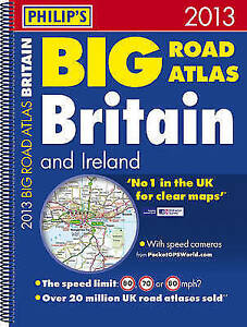Good-Philip-039-s-Big-Road-Atlas-Britain-and-Ireland-2013-Spiral-A3-Philips-Road