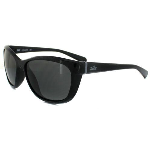 Nike Sunglasses Gaze EVO646 001 Shiny Black Grey