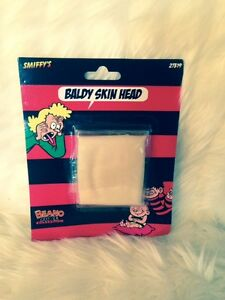 BEANO-BALDY-MAN-SKINHEAD-BALD-CAP-BUDGET-FANCY-DRESS-ACCESSORY