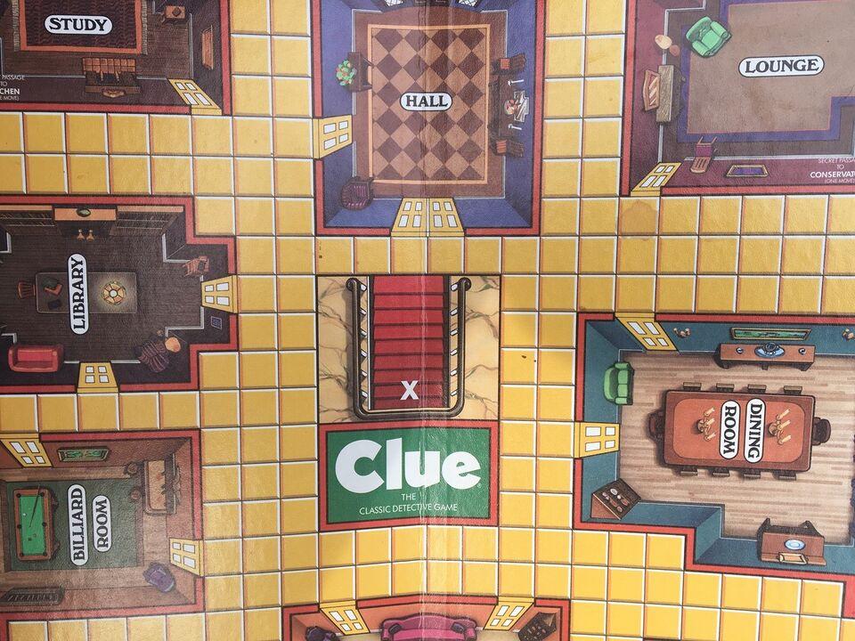 Cluedo, Familie spil, brætspil