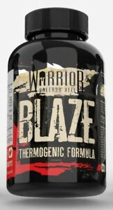 Warrior Blaze Fat Burners Strong T5 Weight Loss Slimming Aid Diet Pills 90 Caps 5060424700899