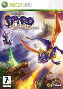 Xbox-360-The-Legend-of-Spyro-Dawn-of-the-Dragon-Gleichen-Tag-Versand-boxed