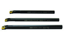 Shars 3pcs Sclcr Indexable Boring Bar Set 516 38 12 3 Inserts 70 Off P