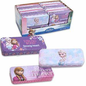 Brand-New-Kids-Disney-Frozen-Tin-Pencil-Case-Box-For-Girls