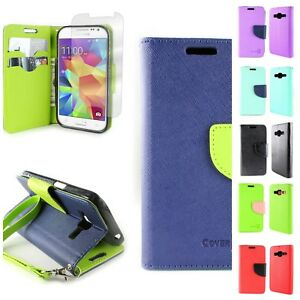 factory price 56b70 4aba5 Wallet Phone Case Cover and Screen for Samsung Galaxy Prevail LTE ...