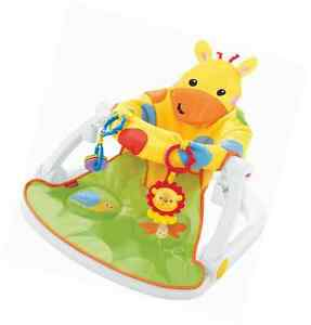 Fisher Price Giraffe Sit Me Up Floor Seat Babies Toddlers Stability Other