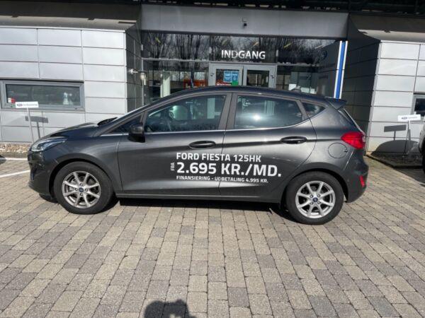Ford Fiesta 1,0 EcoBoost mHEV Titanium billede 1