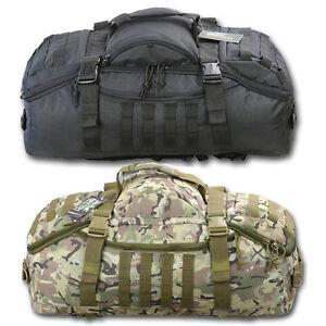 60 Litre Operators Duffle Bag Holdall Rucksack Btp