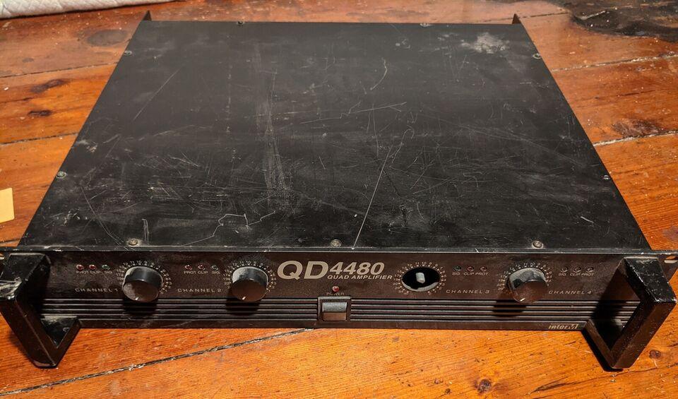 4 kanals forstærker, InterM QD4480
