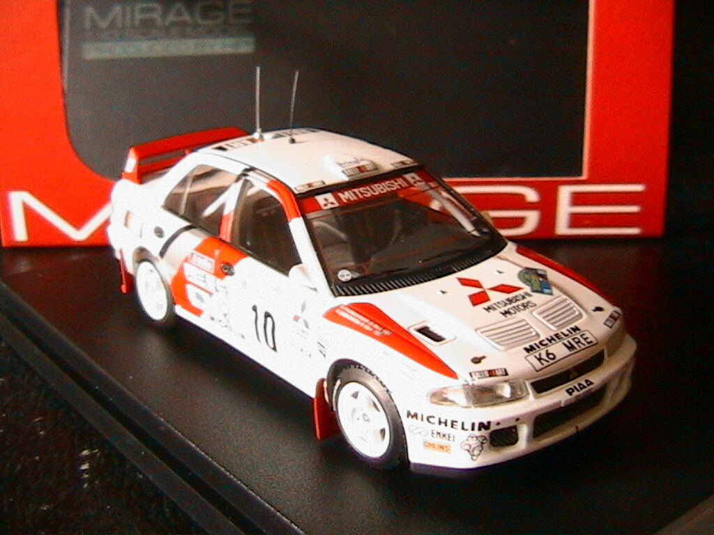 MITSUBISHI LANCER EVO 2  10 ERIKSSON PARMANDER RALLY SWEDEN 1995 HPI RACING 8547