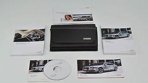 audi a8 s8 document kit navigation plus quick start guide ebay rh ebay com au BMW Navigation Porsche Navigation