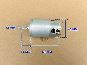 LE16L3 DC 1.2V 2.4V 3.6V 15800RPM High Speed Large Torque D shaft Motor DIY Toy
