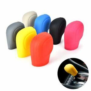 Anti-Slip-Soft-Car-Stall-Gear-Shift-Knob-Cover-Handbrake-Grips-Silicone