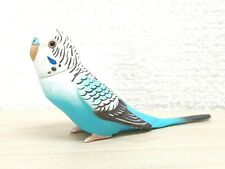 Blue 819 Quail Ceramics Bird Figure Budgerigar Budgie