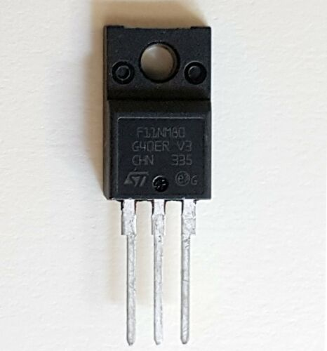ST MDmesh™  TO-220F 11NM80– ref:610 F11NM80  N-Channel MOSFET 11A 800V