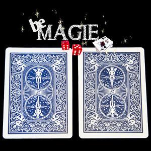 Carte Spéciale Bicycle - Double dos Bleu - Tour de magie